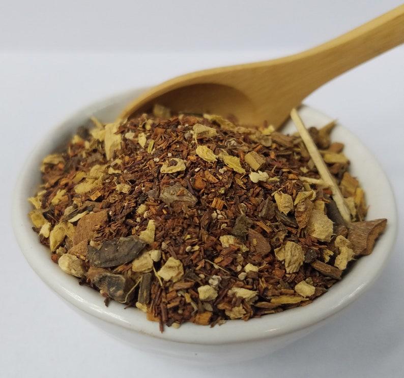 Herbal Pumpkin Spice Rooibos Licorice Root Ginger Cinnamon image 0