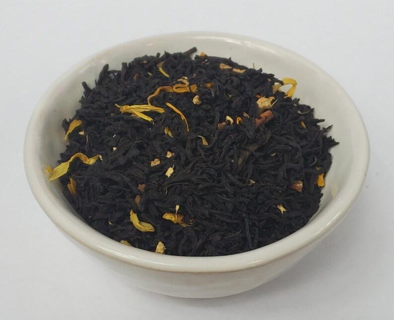 Pumpkin Spice Black Loose Leaf Tea image 0