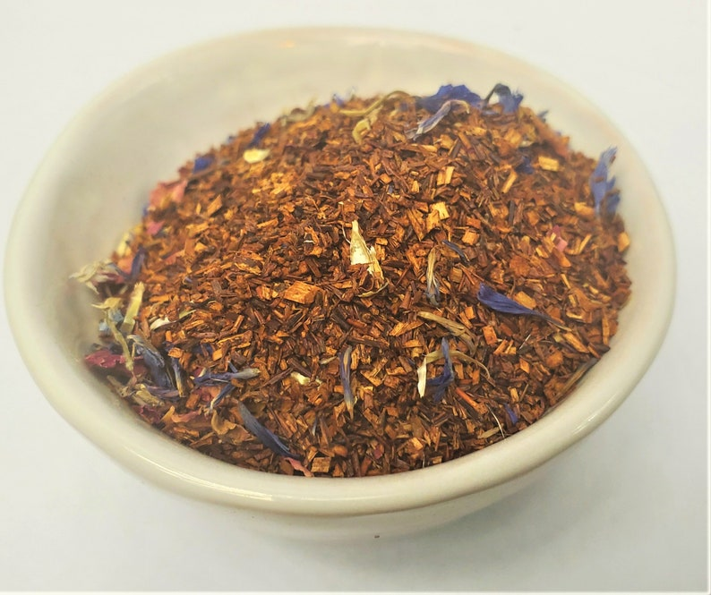 Caramel Almond and Vanilla Creme Flavors Rooibos Loose Leaf image 0