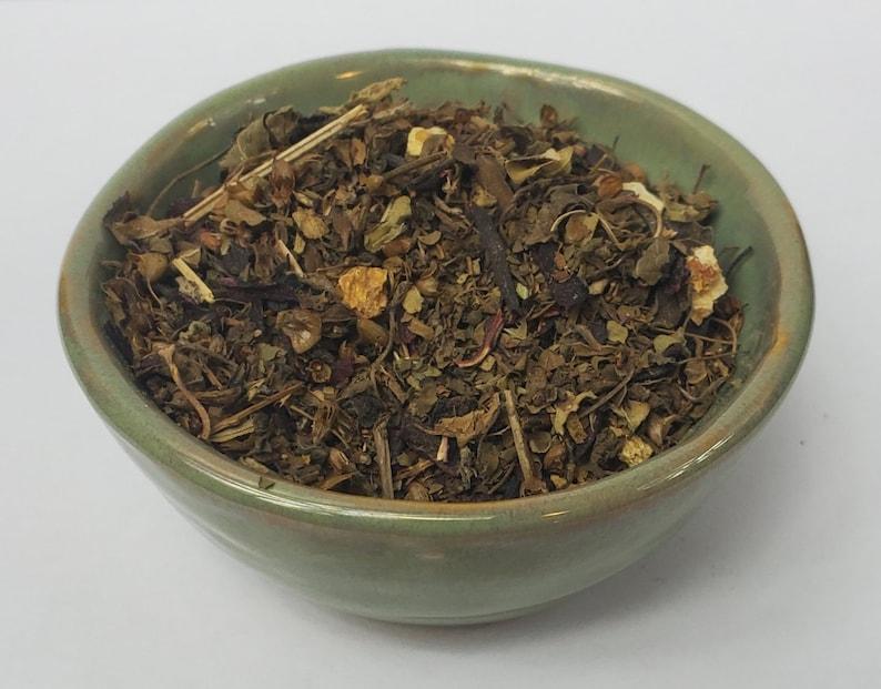 Tulsi Sleep Herbal Hibiscus Flower Holy Basil Tea image 0