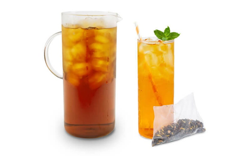 Peach Oolong Iced Tea Pouch 4 quarts image 0