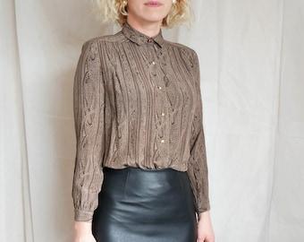 03719052d620ee Vintage pure silk paisley shirt