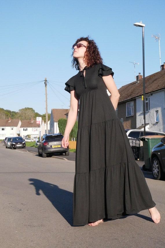 Vintage 70's Marion Donaldson boho maxi dress | Ti