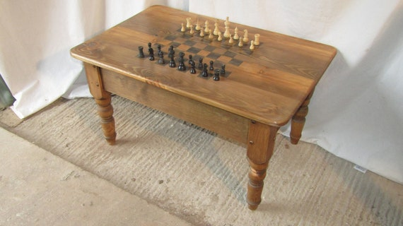 Magnificent Coffee Table Chess Table Games Table Games Table Gmtry Best Dining Table And Chair Ideas Images Gmtryco
