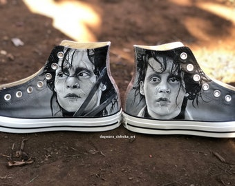 Hand painted Converse. Hand painted shoes. 78e1a1af4