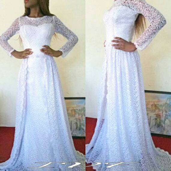 African Lace Dress African Maxi Dress African Wedding Dress African Party Dress African Prom Dress