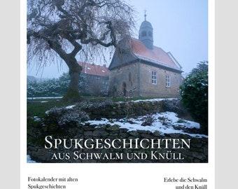 Haunted stories from Schwalm and Knüll (A3 matt)