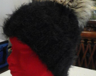 Cappello in lana mohair  814e5fc859ab