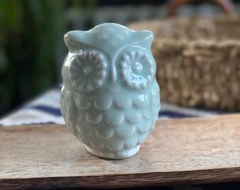 Porcelain Owl Nightlight