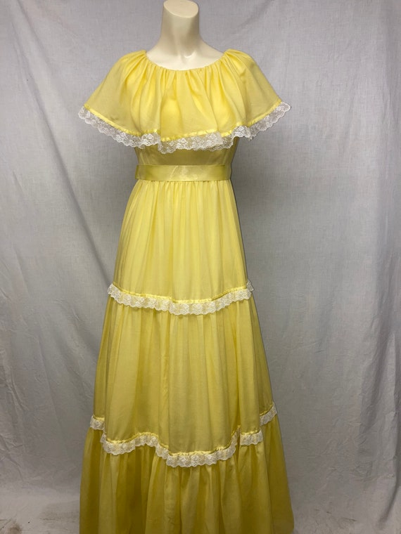 Vintage Handmade Cotton Prairie Dress