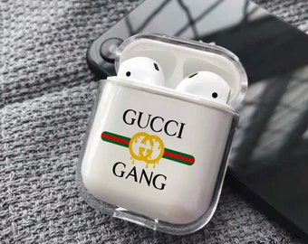 558bb28e0 Inspired by Gucci AirPod case Gucci Gang AirPod plastic case Apple case  Gucci logo case Gucci Gang plastic case Apple case Gucci
