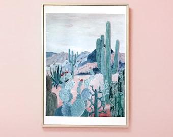 DESERT SUNSET | Digital print