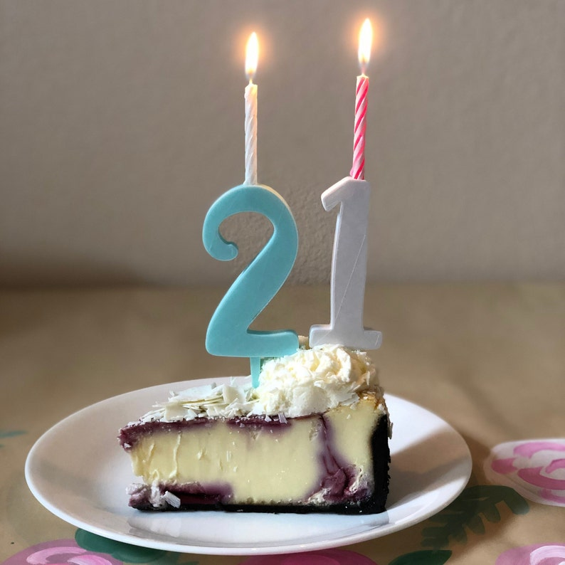 10 Number Candles 0 9 Cake Toppers 1 Year Old