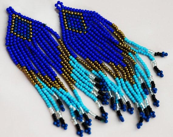 2 Abara Tassels. Seed Beads