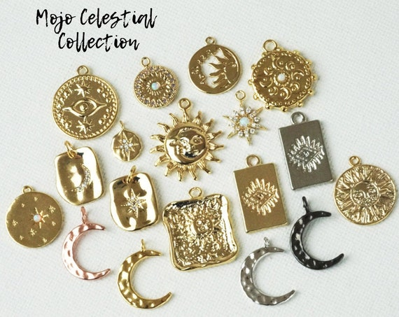 Celestial Pendant Collection. Thirteen Styles.