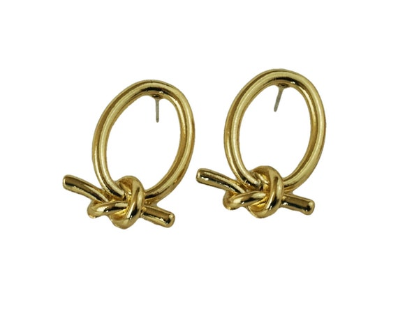 Elke Love Knot Earrings.