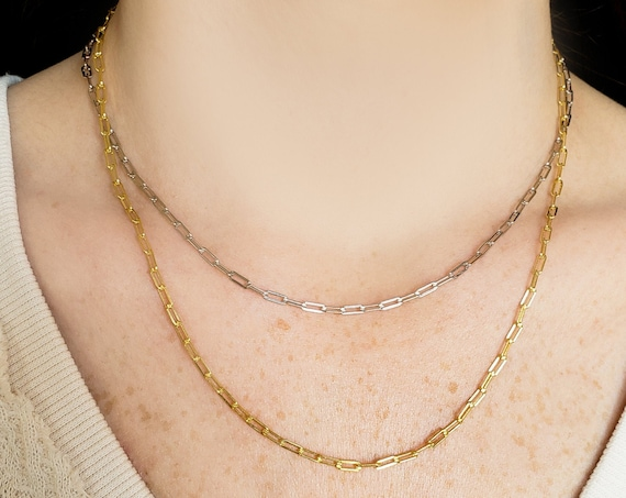Vera Necklace.  Gold Plated Sterling Silver.