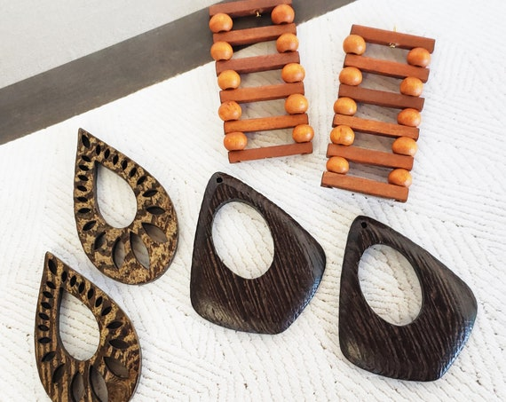 Wood Collection. Three Styles. Natural Wood.