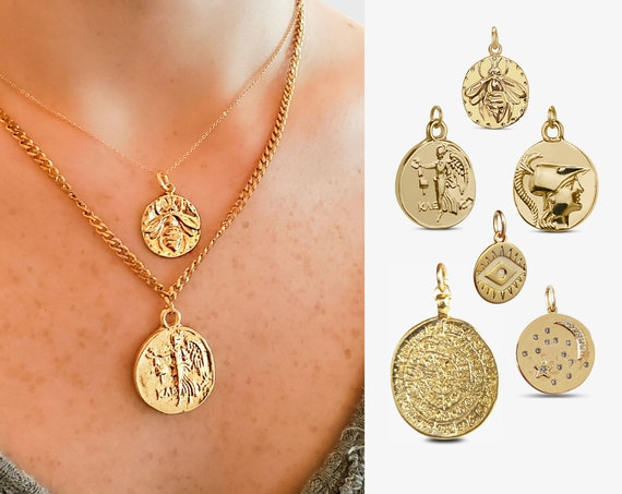 Gold Coin Layering Collection.