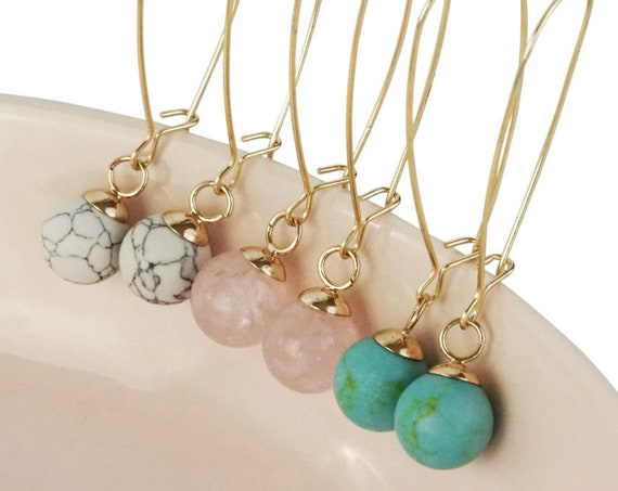 Zarah Pendant. Three Colors. Crystal and Gold Plating.