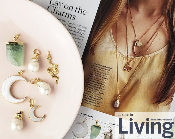 Mojo Charms in Martha Stewart Living Mag. Five Styles.