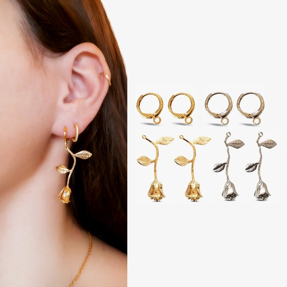 Jolie Hoops and/or Florence Rose Charms.