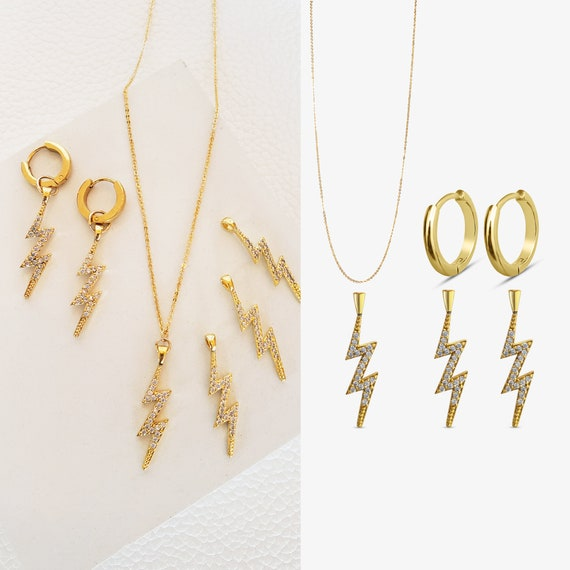 London Hoops. Val Pendants. Sloane Necklace.