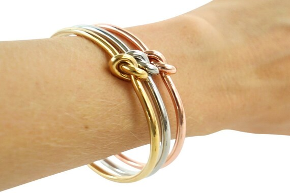 Naomi Cuff Bracelet. Three Colors. Gold and Silver Plated Brass.