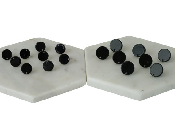 Pair Aminah Studs. Two Sizes.
