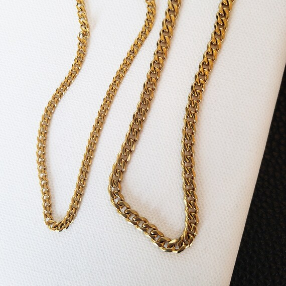 Elise Necklace. Gold Plated Stainless Steel.