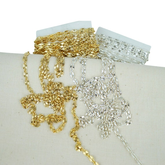 Molly Chain. Two Colors. 14K Gold Filled and Sterling Silver.