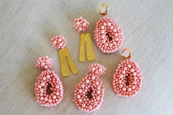 Elena Beads. Pink.