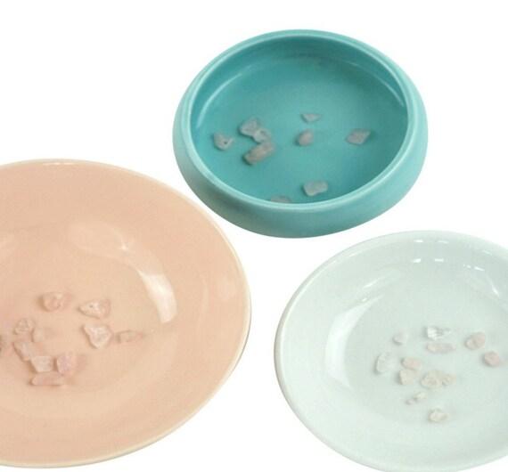 5 Zoe Chip Beads. Pink Rose Quartz Stone.