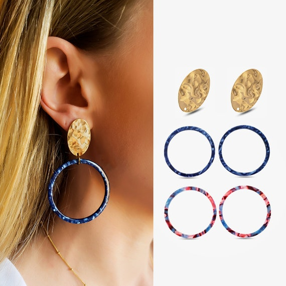 Abigail Studs and/or Maya Hoops.