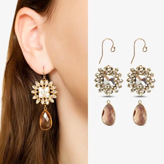 Make Your Own Earrings. Samra Hooks. Payton Connectors. Lauren Charms.