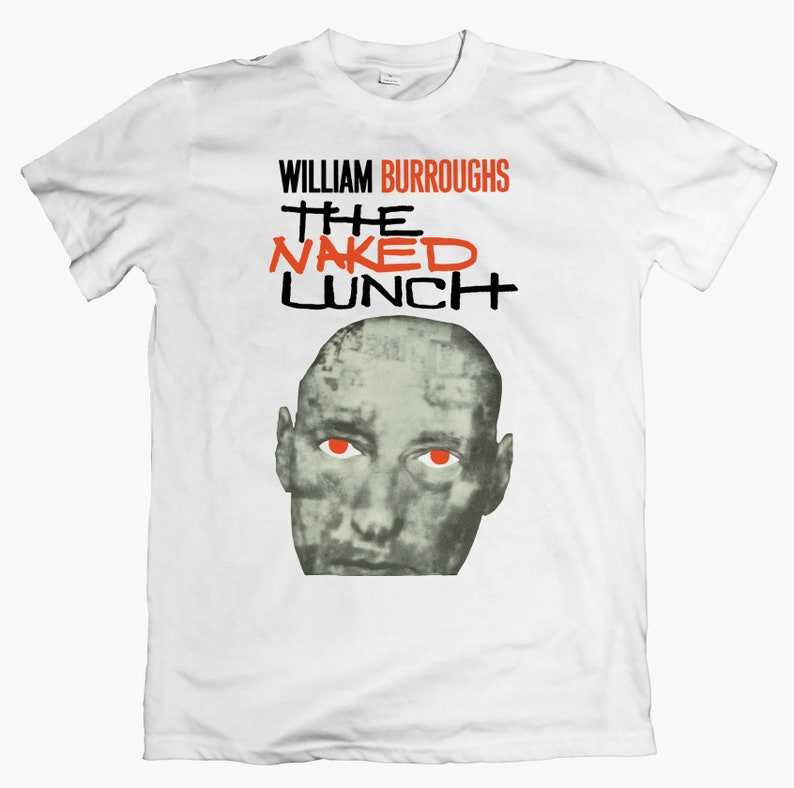 Naked Lunch Japanes Import T SHIRT 79 Shirt William S