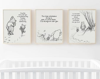 Pooh Bear Quotes | Pooh Bear Quotes Etsy