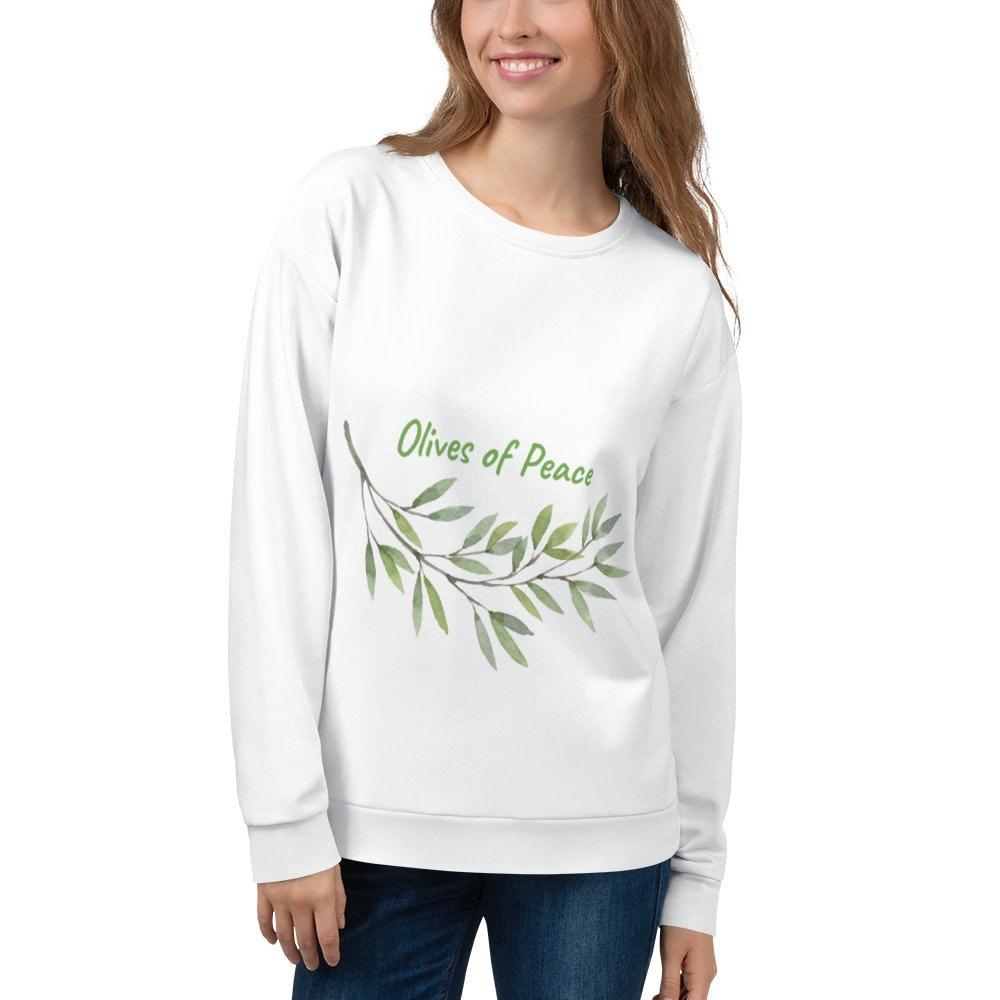 Olives de paix sweat unisexe, paix tshirts tshirt, tshirts paix d'Olivier 3ef98c