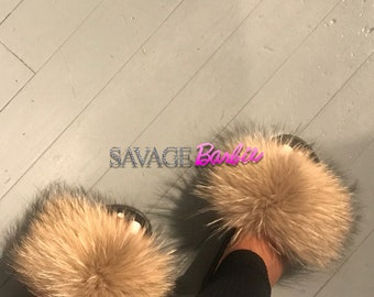 509f92ce8bf9 Purple fur slides