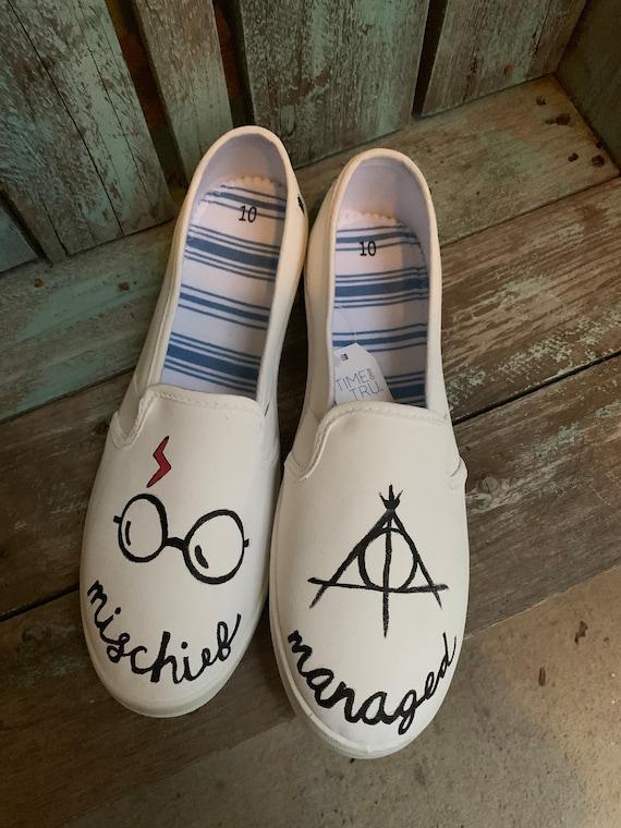 Harry Potter handpainted shoes
