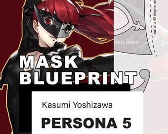 Persona 5 mask | Etsy