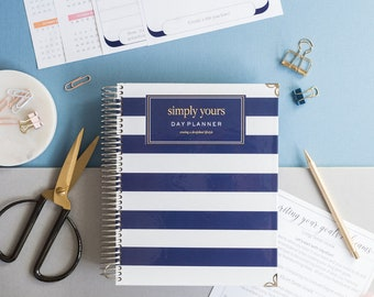 picture regarding Hardcover Daily Planner called Hardcover planner Etsy