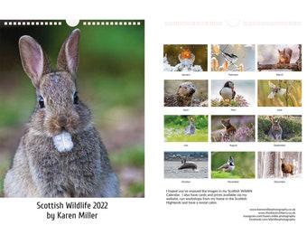 2022 Scottish Wildlife Calendar