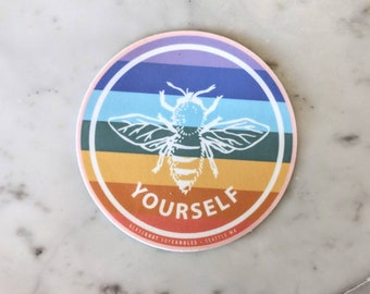 Pride Sticker Be Yourself