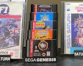 Sega Genesis Cartridge Showstand