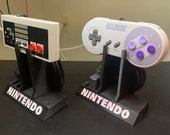 NES/SNES Controller Display Stands (traditional and USB)