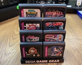 Sega Game Gear Cartridge Display Stands