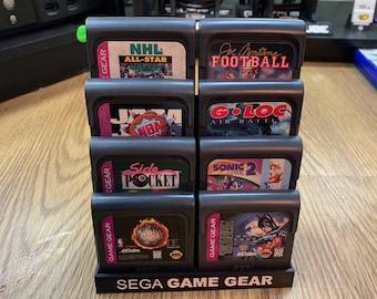 Sega Game Gear Cartridge Display Stands
