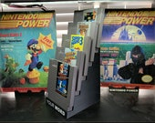 NES Cartridge and Box Display Stands
