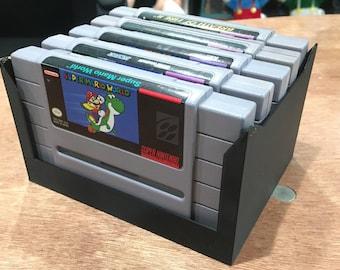 Super Nintendo Display Rack